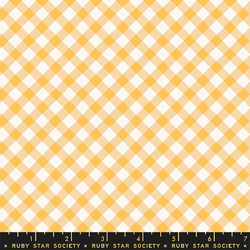 Painted Gingham in Butternut
