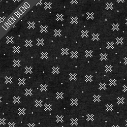 Mudcloth in Black