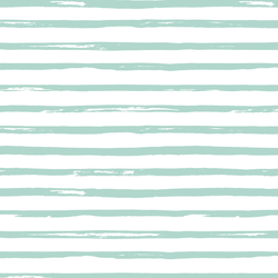 Watercolor Stripes in Spruce