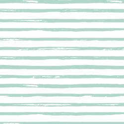 Watercolor Stripes in Spruce