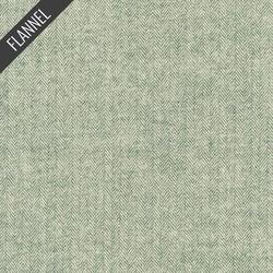 Shetland Herringbone Flannel in Basil