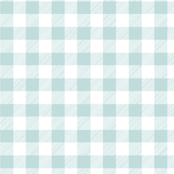 Medium Buffalo Plaid in Glacier Blue