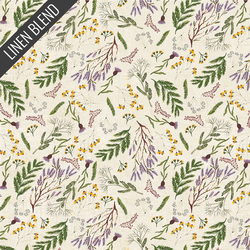 Heather Floral in Natural
