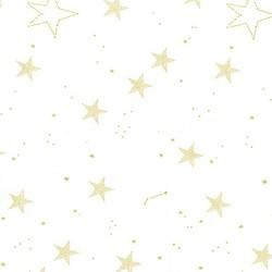 Lucky Stars in White Metallic