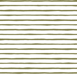 Artisan Stripe in Jungle on White