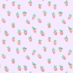 Strawberries on Top in Lavender