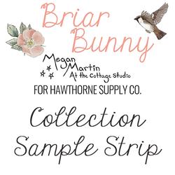 Briar Bunny Sample Strip