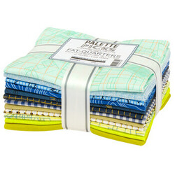 Palette Picks Fat Quarter Bundle Curated by Carolyn Friedlander in Cheering Cool Palette