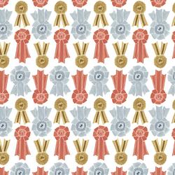 Prize Ribbons in White