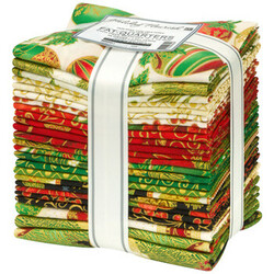 Holiday Flourish 15 Fat Quarter Bundle in Holiday Colorstory