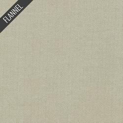 Shetland Herringbone Flannel in Flax