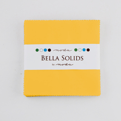 Bella Solids Charm Pack in Yellow