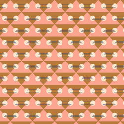 Geo in Pink Multi