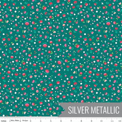 Poppy in Emerald Metallic Sparkle
