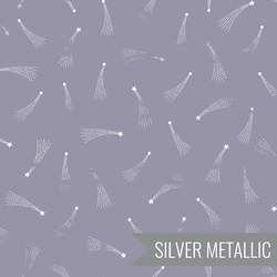 Shooting Stars in Dusty Lilac Metallic
