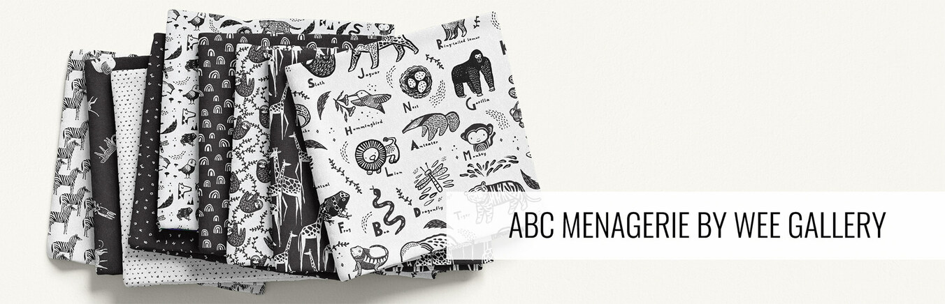 ABC Menagerie by Wee Gallery