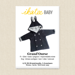 Grand'Ourse Cardigan - Baby and Toddler