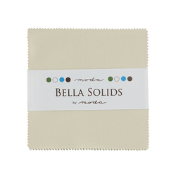 Bella Solids Charm Pack in Natural