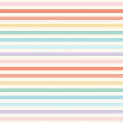 Rainbow Stripe in Morning