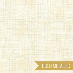 Quilter's Linen Metallic in Cream
