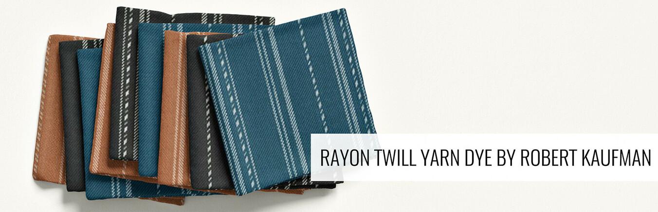 Sunset Studio Rayon Twill Yarn Dye