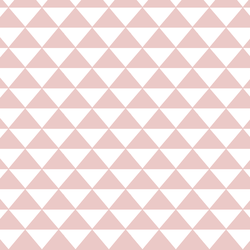 Triangle Mosaic in Blush