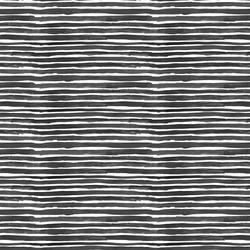 Small Watercolor Wash Stripe in Black
