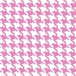 Everyday Houndstooth in Peony