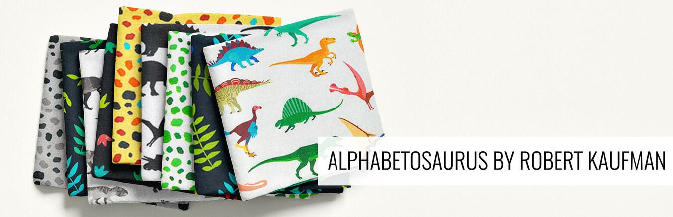 Alphabetosaurus by Robert Kaufman