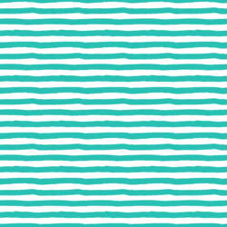 Stripes in Aqua