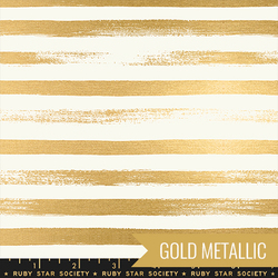 Zip in Metallic Gold