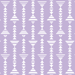 Little Tribal Stripe in Lilac