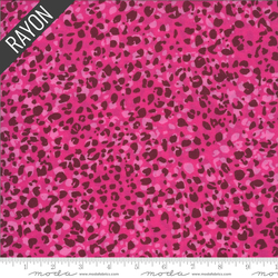 Animal Rayon in Pink
