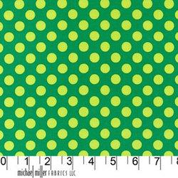 Ta Dot in Green