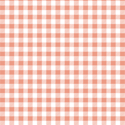 Small Buffalo Plaid in Grapefruit