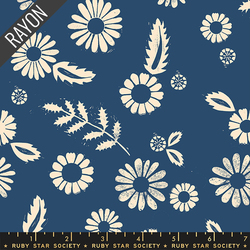 Daisy Rayon in Bluebell