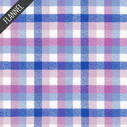 Mammoth Junior Check Plaid Flannel in Lilac