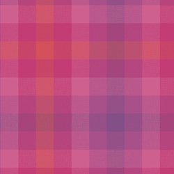 Plaid in Magenta