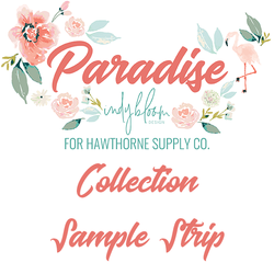 Paradise Sample Strip