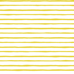 Artisan Stripe in Sunshine on White