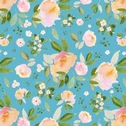 Spring Blossoms in Spring Sky