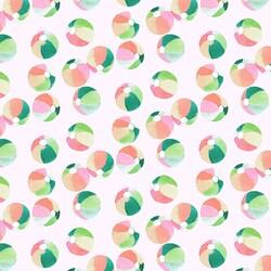 Beach Balls in Cotton Candy