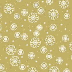 Snowflakes in Brass