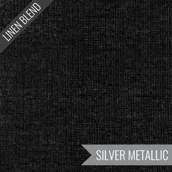 Essex Yarn Dyed Metallic in Onyx