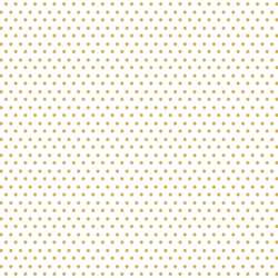 Polka Dots in Honeycomb on White