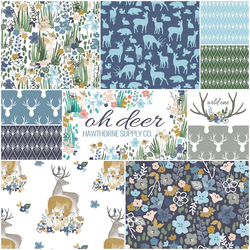 Oh Deer Fat Quarter Bundle in Arcadian