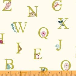 Alphabet in Ivory