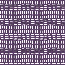 Stitched in Aubergine