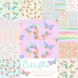 Butterflies Fat Quarter Bundle