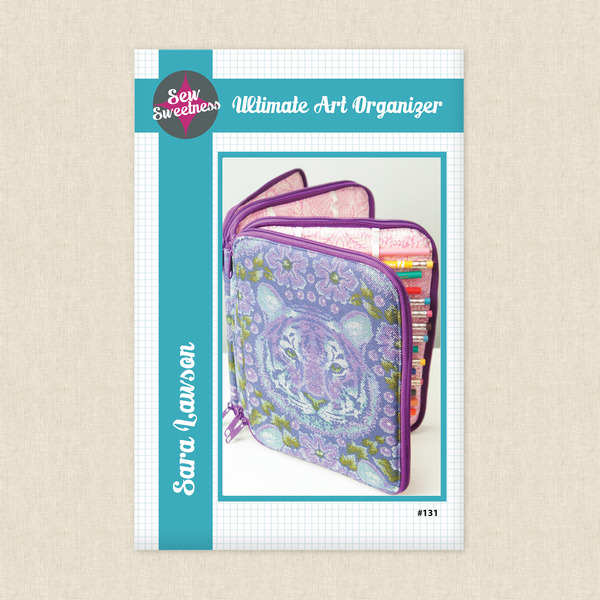 Ultimate Art Organizer Sewing Pattern by Sew Sweetness at Hawthorne ...